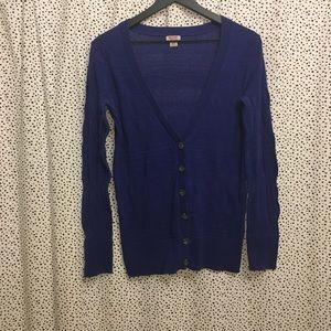 Medium blue boyfriend sweater
